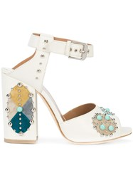 Laurence Dacade Rosemary Sandals White