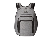 Quiksilver Schoolie Backpack Light Grey Heather Backpack Bags Gray