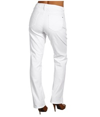 Miraclebody Jeans Katie Straight Leg Jean White Women's Jeans