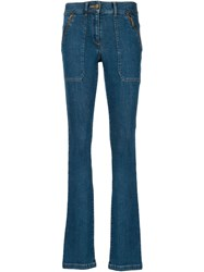 Veronica Beard Flared Jeans Blue