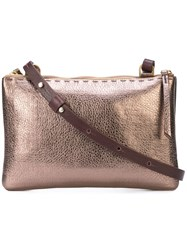 Henry Beguelin Metallic Crossbody Bag Unavailable