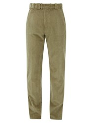Y Project Corduroy Cotton Trousers Beige