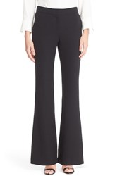 Lafayette 148 New York Women's Kenmare Stretch Wool Flare Leg Pants