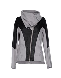 Oblique Coats And Jackets Jackets Women Grey