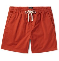 J.Crew Dock Stretch Cotton Shorts Tomato Red