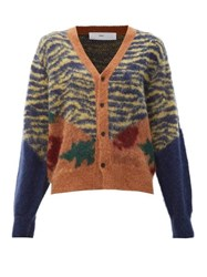 Toga Animal Print Jacquard Cardigan Multi