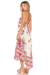 Spell And The Gypsy Collective Hotel Paradiso Strappy Maxi Dress Ivory