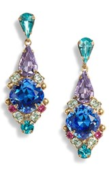 Sorrelli Alyssum Earrings Blue Multi