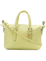 Rick Owens Top Handle Zipped Tote Yellow And Orange