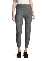 Beyond Yoga Everlasting Cropped Sweatpants Black White