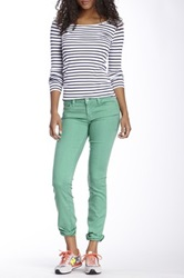 Level 99 Lilly Skinny Straight Leg Jean Green