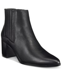 Charles By Charles David Unity Booties Women's Shoes Black Leather