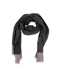 Roda Oblong Scarves Black