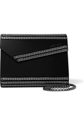 Jimmy Choo Candy Chain Embellished Acrylic Clutch Black