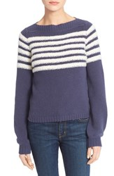 Women's Rebecca Taylor Nautical Stripe Pullover