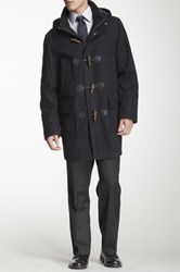 Tommy Hilfiger Barry Wool Blend Toggle Peacoat Blue