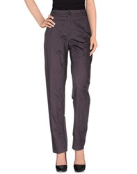 Forte Forte Forte_Forte Trousers Casual Trousers Women Deep Purple