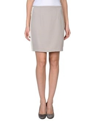 Hotel Particulier Knee Length Skirts Grey
