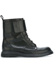 Ports 1961 Lace Up Ankle Boots Black