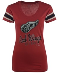 '47 Brand Women's Detroit Red Wings Off Campus Scoop T Shirt