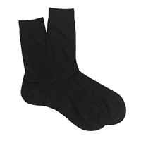 J.Crew Pantherella Merino Wool Socks Black