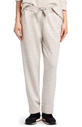 James Perse Luxe Sweatpants Light Heather Grey