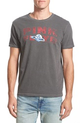 Lucky Brand 'Pink Floyd Saturn' Graphic Crewneck T Shirt Black Mountain