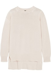 Adam By Adam Lippes Oversized Cotton Cashmere And Silk Blend Sweater