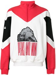 Pam P.A.M. Colour Block Sweatshirt Multicolour