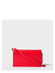 Paul Smith No.9 Women's Red Leather Pochette