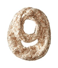 San Diego Hat Company Bss1675 Crochet Knit Infinity Scarf Camel Scarves Tan