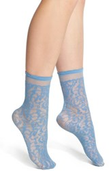 Women's Oroblu 'Calzino Pleasant' Lace Effect Tulle Ankle Socks