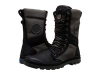 Palladium Tactical Wpn Zip Black Metal Men's Boots