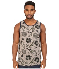 Matix Clothing Company Brava Tank Top Knit Grey Men's Clothing Gray