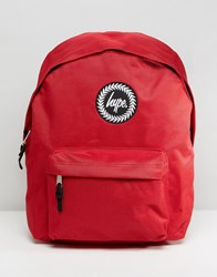Hype Badge Red Backpack Red