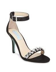 Betsey Johnson Sury Ankle Strap Sandals Champagne