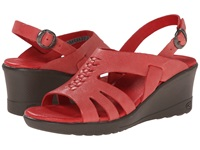 Keen Elizabeth Ribbon Red Women's Wedge Shoes