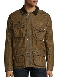 Polo Ralph Lauren Daytona Biker Jacket Brown