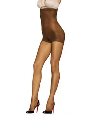 Hanes Silky Reflections Sheer Hi Waist Control Top Tights Barely There