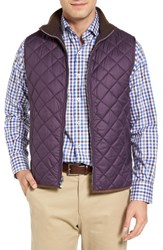 Peter Millar Men's 'Hudson' Lightweight Quilted Vest Snapdragon