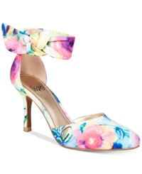 Impo Tarcel Ankle Strap D'orsay Pumps Women's Shoes Flower Multi