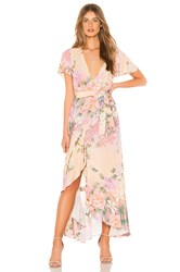 Spell And The Gypsy Collective Lily Maxi Dress Pink
