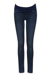 Topshop Maternity Dark Vintage Leigh Jeans Blue
