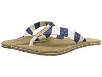 Original Penguin Stripe Thong Off White Dress Blues Men's Sandals