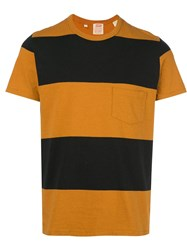Levi's Vintage Clothing Casual Stripe T Shirt Gold