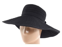 San Diego Hat Company Rbl299 Crushable Ribbon Floppy Hat Black Traditional Hats