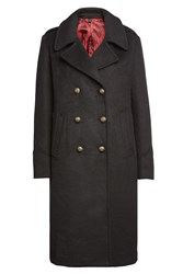 Blauer Coat With Wool Black
