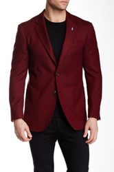 Tailorbyrd Double Faced Wool Sportcoat Red