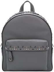 Coach Campus Backpack Grey