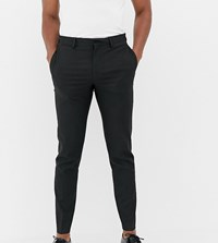 Noak Skinny Smart Trouser In Black